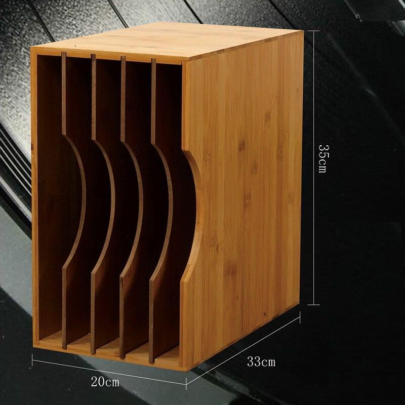 Черная резинка полка для записи Классическая ностальгическая LP стойка для хранения виниловых дисков стойка для хранения CD Стойка перегородка Съемная гибкая