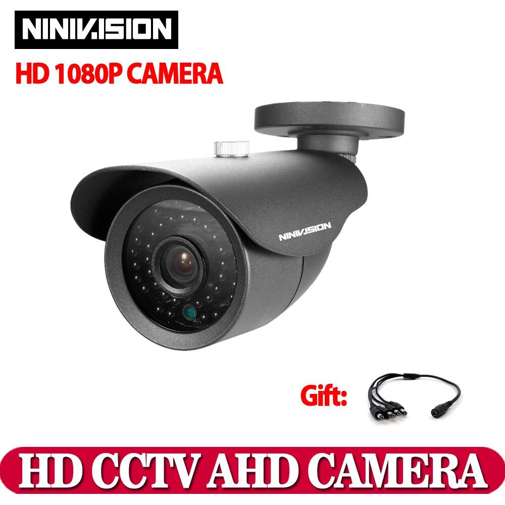 imágenes para Casa IR-CUT 2.0MP 1080 P AHD Bala Impermeable al aire libre Cámara de Visión Nocturna sistema de CCTV Cámara de vigilancia doméstica AHD-H