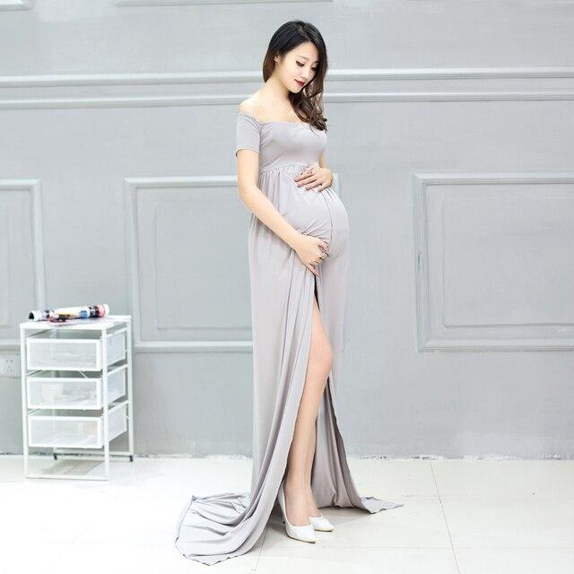 Top Maternità dress per servizio fotografico wq14 anteriore spaccato  CR86