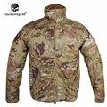 Emersongear Пальто Куртка SoftShell Дышащий Пота Эмерсон Открытый Свет Военная Осень Зима EM6810M Multicam