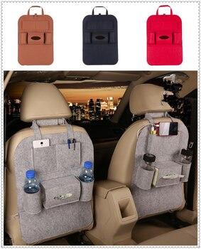 Nueva bolsa de almacenamiento interior para asiento de coche, estante de acabado de escombros multipuerto para Renault Initiale Fluence Alpine Wind r-space