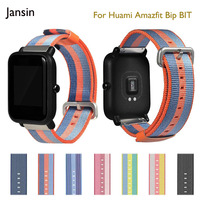 20mm Universal Nylon Watch Strap For Xiaom Huami Amazfit Bip BIT Samsung Gear Sport Moto360 Gen