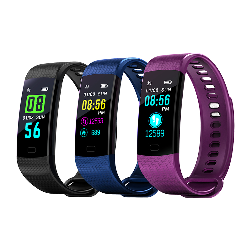 Smart Watch Bracelet Wristband Fitness Sports Blood Pressure Heart Rate Monitor Full Color Screen