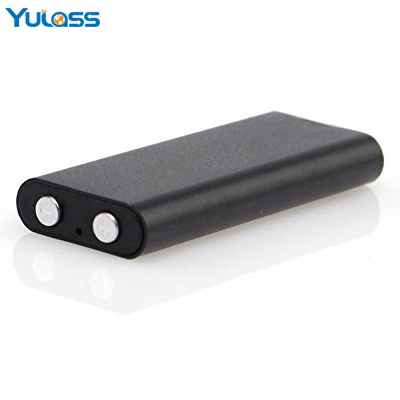 Yulass 8GB Smallest Audio Recorder Black Portable Mini USB Digital Voice Recorder Professional With Wav/MP3 Player