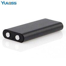 Yulass 8GB Smallest Audio Recorder Black Portable Mini USB Digital Voice Recorder Professional With Wav/MP3 Player