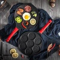 Breakfast pot mai fan stone porous pan waffle pan frying egg baby food non stick pan LM12181109