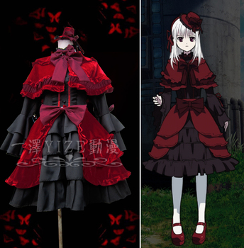 New Anime K Kushina Anna Cosplay Fancy Dress Girls Lolita Dress Halloween Costumes for Women Maid Dresses Adult Costumes S-XL 1