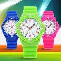 Hot Sale Kids Watches Children Cartoon Boys Girls Waterproof Quartz Wristwatches
