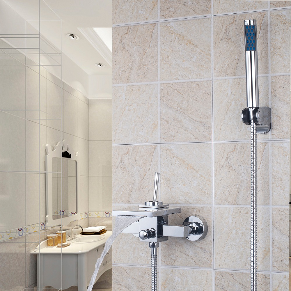 aliexpress com buy wall mounted bathroom faucet bath tub