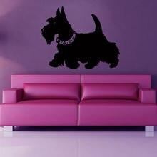 Pet Shop Sticker Dog Decal Muurstickers Posters Vinyl Wall Art Decals Pegatina Quadro Parede Decor Mural Pet Shop Sticker