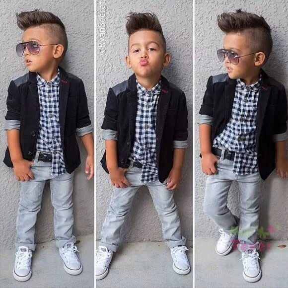 NEW boys clothing set sport clothes boys clothes shirt +jeans+coat