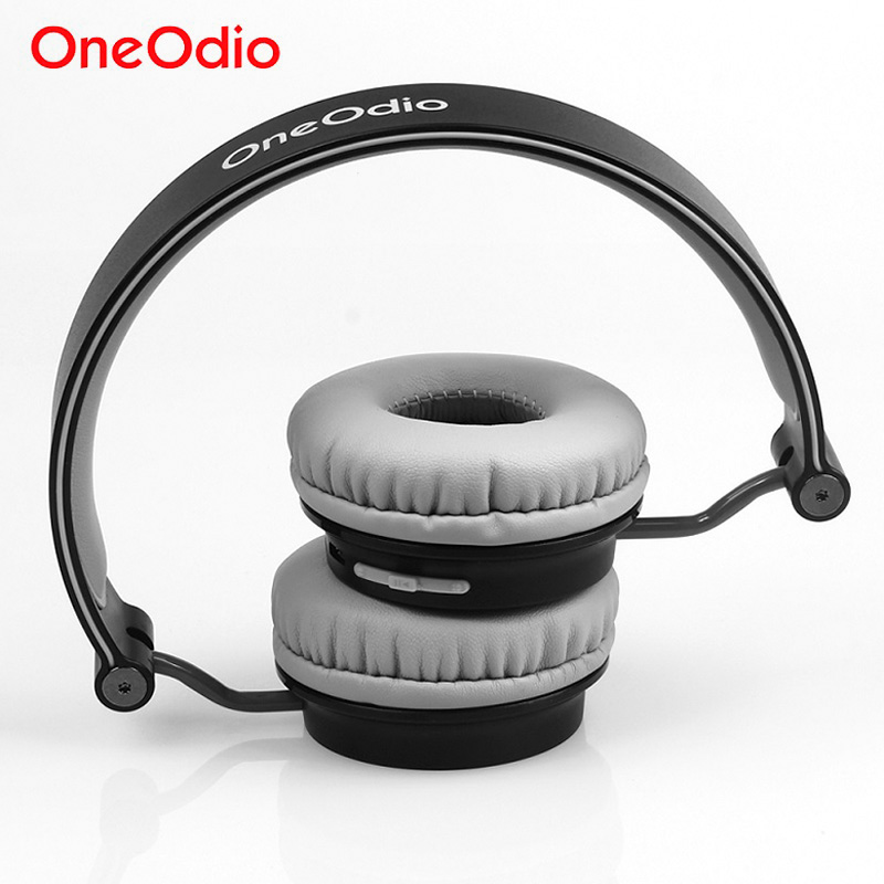 Oneodio Headphones Sport Bluetooth Wireless Headset For Mobile Phone Xiaomi Headphone Bluetooth Foldable Headset With Microphone m163 mini wireless bluetooth headset headphones with microphone car handsfree single ear earphone for ipone xiaomi mobile phone