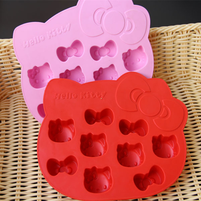 Chocolate Cookes N Cream Dunmore Candy Kitchen: Kitchen Tools HELLO Kitty Shaped DIY Silicone Chocolate