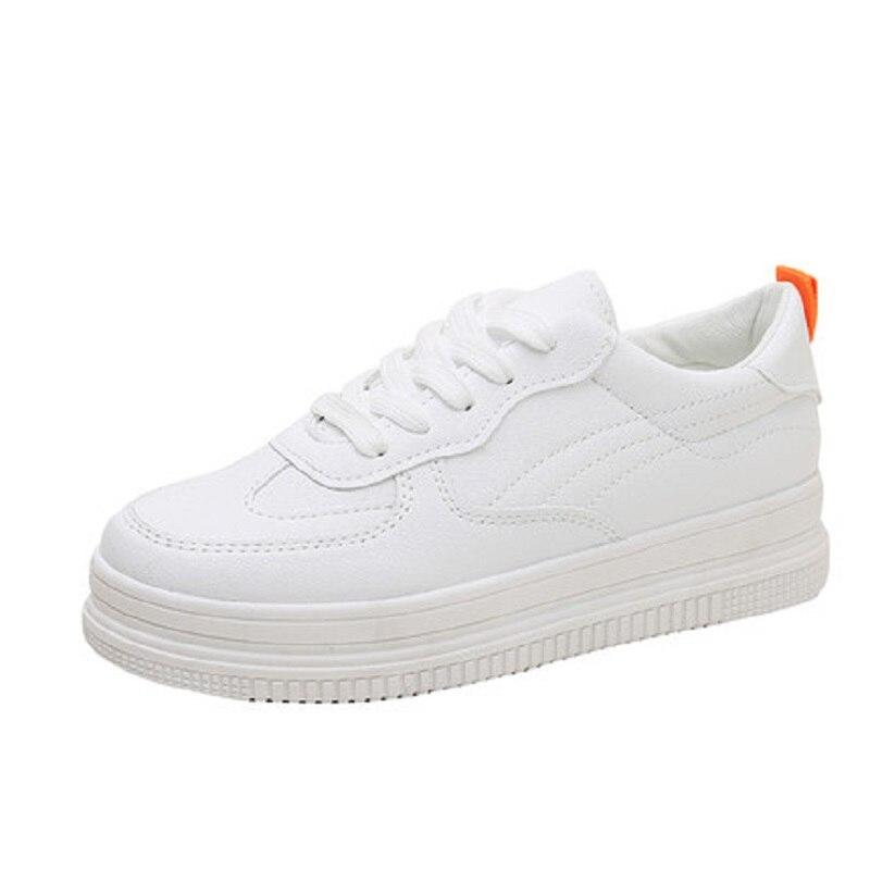 Sauvages Haute Version Qualité Plate Simples Chaussures forme Casual Femmes blanc Et Du Printemps Nouvelles Coréenne Cuir Beige Automne De rIrqdxaP