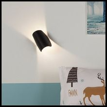 Nordic Sconce  Modern Sconce Stair Light Fixture Living Room Bedroom Bedside Indoor Lighting Home Hallway Loft Led Wall Lamp modern nordic round full moon led wall lamp bedside light child bedroom living room sconce light fixture wall decor art white