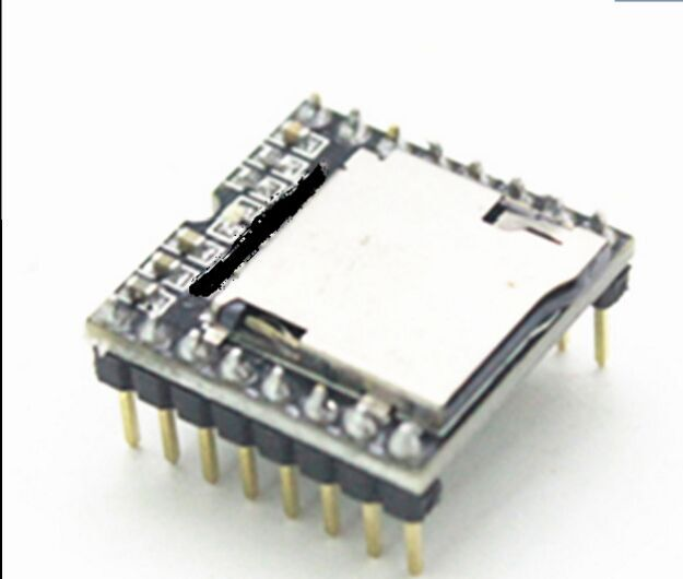 5pcsMini MP3 Player Module TF Card U Disk Mini MP3 Player Audio Voice Module Board For