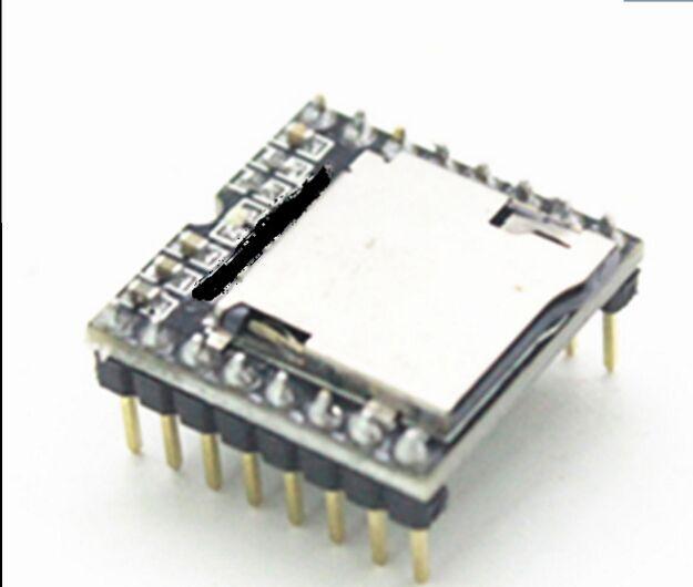 5pcsMini MP3 Player Module TF Card U Disk Mini MP3 Player Audio Voice Module Board For
