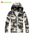 New Arrival Spring Summer Men's jacket Jaqueta De Masculina  Casual Coat Fashion Windbreaker Camouflage