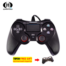 wired Gamepad Game Controller for PS4 Playstation Dualshock 4 Gamepads vibration PS3 pubg controller Joystick цена и фото