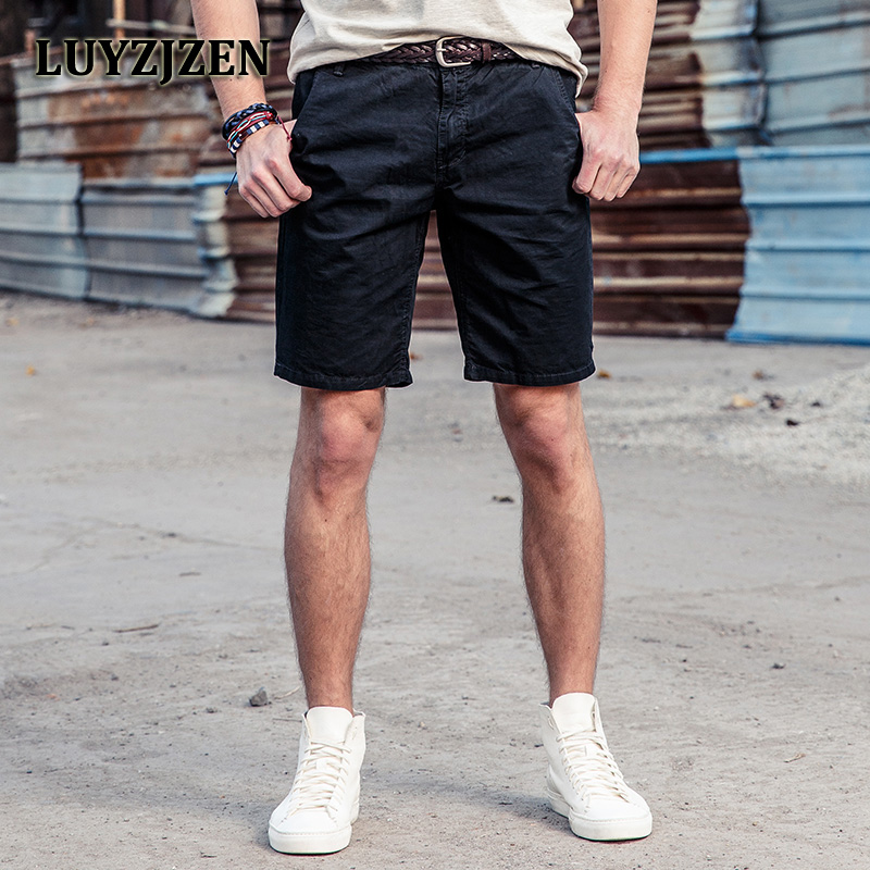 2017 New Casual Shorts Summer Men Cargo Work Male Plus Size Fashion Style Short Pants 34