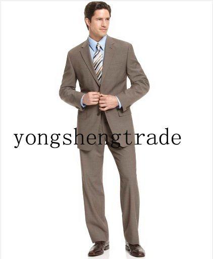 fbbf6086c9a Light Brown Suit Men Suits Dress Fashion Men Suit Designer Custom Made Men  Suit High Quality