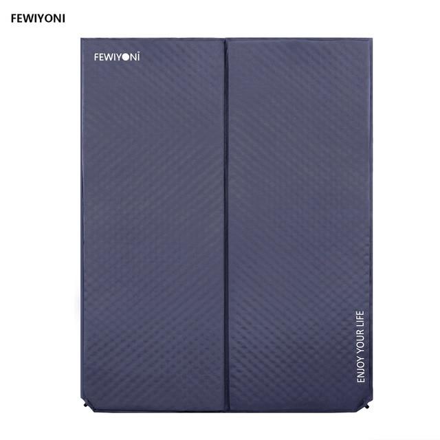 FEWIYONI Comfort Mattress Self-Inflating damp-proof 2-Person Camping mat  Inflatable Mattress Camping mat sleeping pad