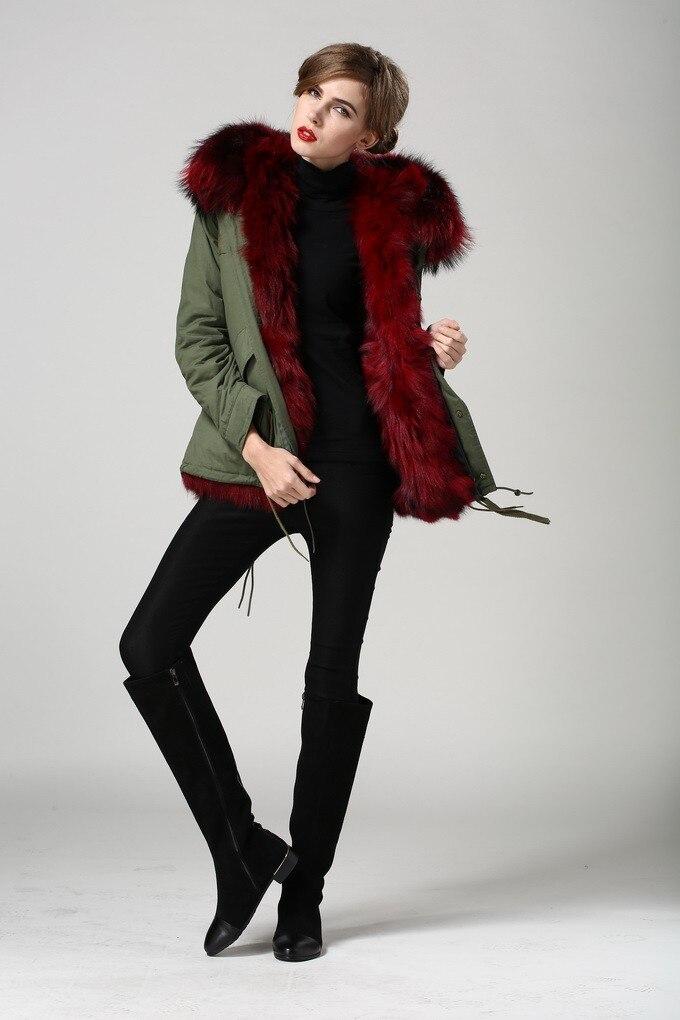 Модные элегантные кашемировое пальто съемным мехом лисы с капюшоном желтый лисий мех внутри Настоящее Меховые пальто