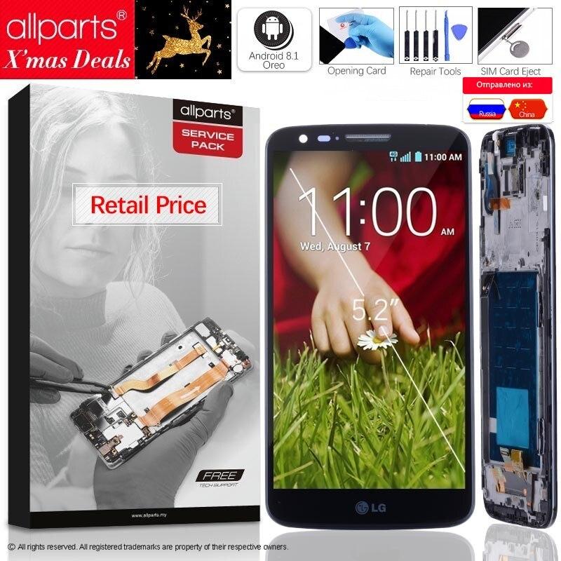 ORIGINAL 5,2 ''Für LG G2 LCD Display Touch Screen Für LG G2 LCD D800 D801 D802 D805 D803 VS980 f320 LS980 LCD Ersatz