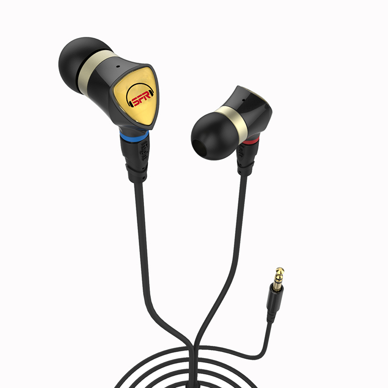 diy Circle iron earphone mmcx removable cable