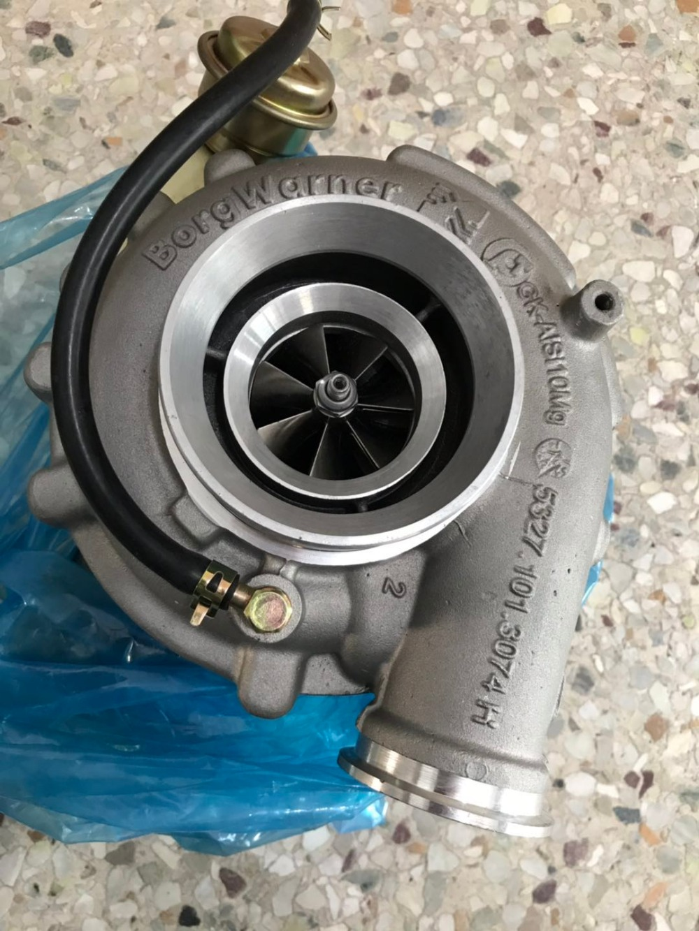 Xinyuchen turbocharger for turbocharger K27 for truck engine 53279887120 9060964699 A9060964699|Turbocharger| |  - title=