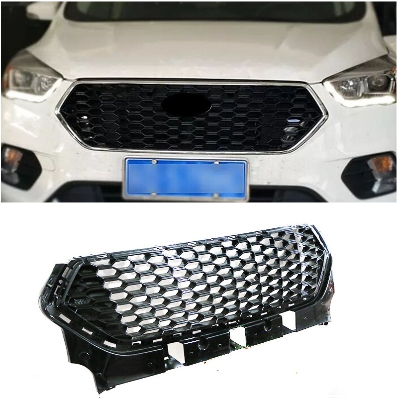 CITYCARAUTO OWN DESIGN MODIFED FRONT RACING GRILL GRILLS BUMPER MASK FIT FOR  KUGA ESCAPE 2017 2018 CAR GRILLE CITYCARAUTO OWN DESIGN MODIFED FRONT RACING GRILL GRILLS BUMPER MASK FIT FOR  KUGA ESCAPE 2017 2018 CAR GRILLE