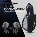 Guidão da motocicleta escova bar mão guardas 7/8 ''handguard 22mm opções de acessórios para suzuki atv moto guarda protetor de mão