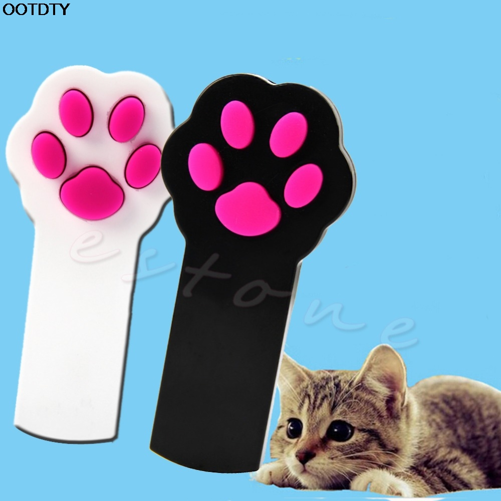 1Pc New Cat Claw Beam Interactive Laser Pointer Laser Pet Cat Dog - Produkte për kafshet shtëpiake - Foto 1