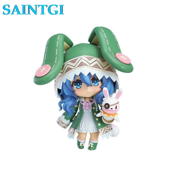 SAINTGI 1pc anime Cute Nendoroid 4 Date A Live Yoshino PVC Action Figure Model 395 brinquedos Tokisaki Kurumi Yotogami gsc 28cm with box anime hot game sona buvelle sexy 28cm 11 pvc action figure toy collection model toy