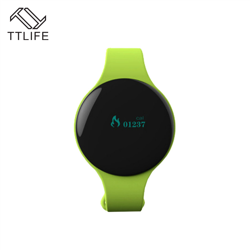 TTLIFE Bluetooth 4 0 Necklace Step Counter Sport Activity Fitness NOTracker Smart Band Bracelet Wristband Better