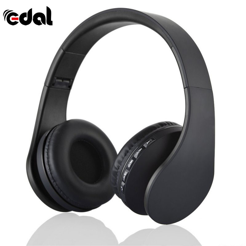 EDAL Bluetooth 3.0 EDR 4 in 1 Stereo Headphones Wireless Headset Music with Micphone For iphone Samsung Hot Sale masentek m18 fashionable bluetooth v3 0 edr music bluetooth headset white