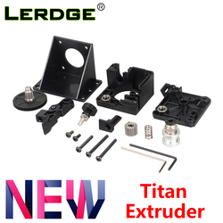 LERDGE 3D printer parts titan Extruder for V6 J-head bowden Mounting Bracket 1.75mm Filament V6 Hotend Fully Kits Accessories