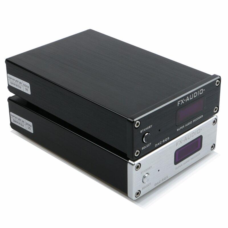 FEIXIANG FX-Audio DAC-SQ5 Hi-Fi 2.0 Audio Decoding Gücləndirici Yeni USB DAC Fiber Coax USB Giriş PCM1794 Gücləndirici
