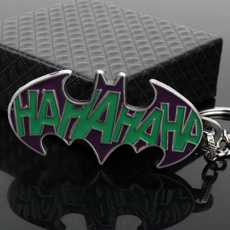 Mqchun moda liga da justiça batman chaveiros para saco chave titular charme pendurado pingente carro chaveiros chaveiro feminino masculino-50
