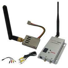 Light-weight Drones Transmitter 1.2G 1000mW FPV Wi-fi Video Transmitter and Receiver 1.2Ghz Transmitter with 12 Channels