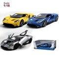 Maisto Ford GT 1:18 Сплава Модель Автомобиля Игрушки Diecasts и Toy Транспорт Коллекция Детские Игрушки Подарок