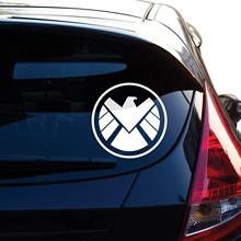 Agents of Shield Decal Sticker for Car Window, Laptop, Motorcycle, Walls, Mirror and More. # 514 (4, White)