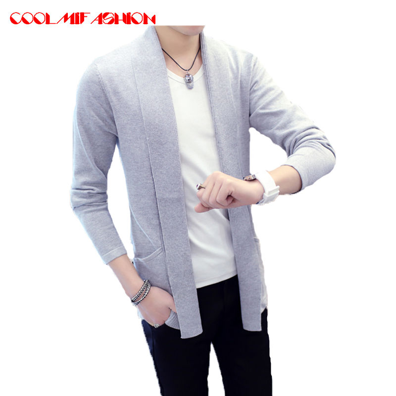 Mens Knit Cardigan Sweaters Men Knitwear trends thin Sweater Slim Casual Brand designers clothing Masculino Sweatercoats