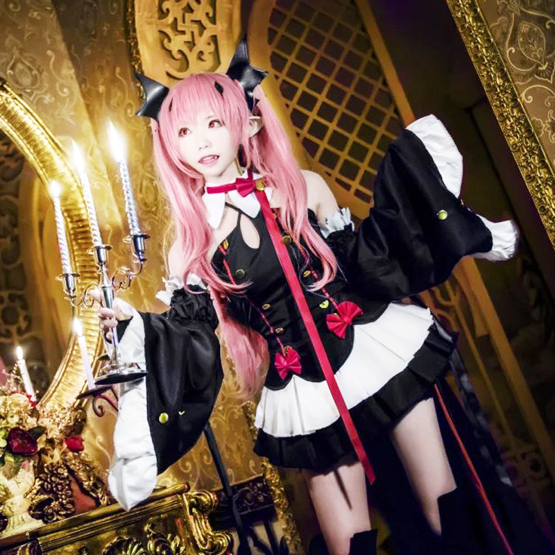 Anime Owari no Seraph cosplay Krul Tepes Costume Seraph of the End: Vampire Reign Cosplay dress lolita Uniforms outfit