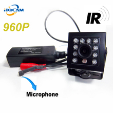 HQCAM 960P Night Vision camera mini ip camera poe 10pcs 940nm IR led POE camera Mini Ip Kamera 1/3″ CMOS Hi3518e ip camera POE