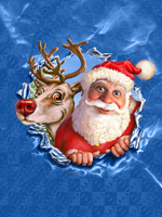 Sewing DIY Diamond Painting Christmas Decoration 5D Diamond Embroidery Santa Claus Patchwork On The Wall