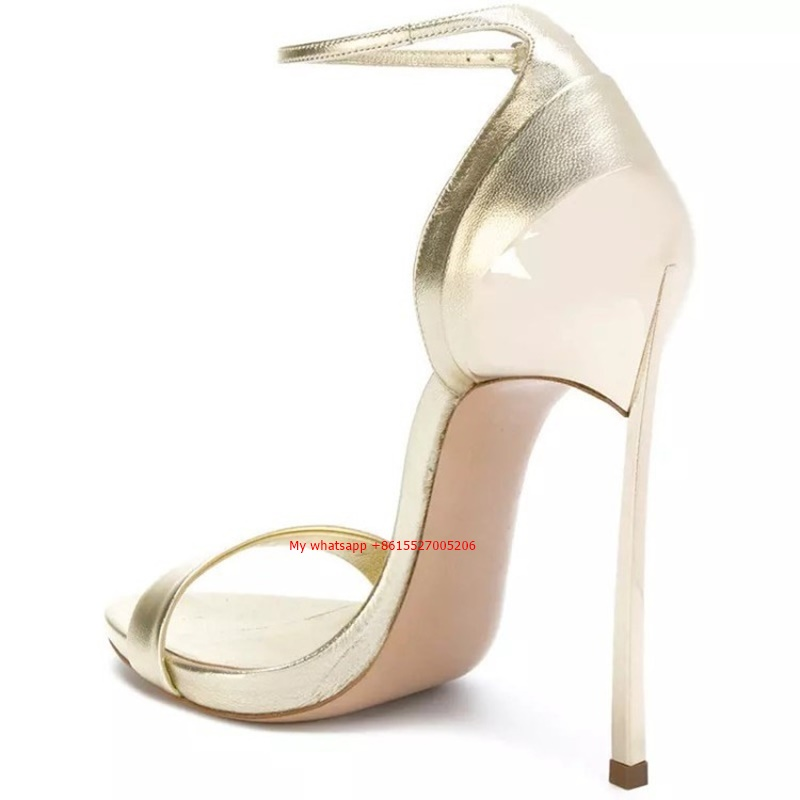 Color Heels Partido Tamaño As Sexy Color Zapatos Mujer Showed Cruz Thin Verano Moda High 34 Sandalias Cm Vendaje Pu as Gladiador 11 43 OxXUZxqRw