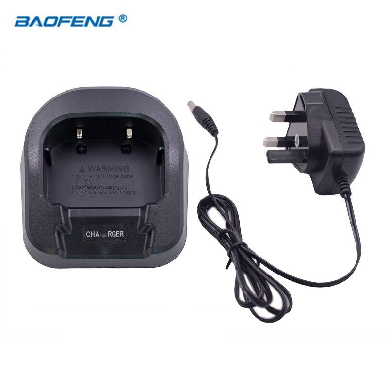 Baofeng Radio Portable véritable chargeur à domicile avec adaptateur ue AU royaume-uni pour accessoires Baofeng UV-82 UV82