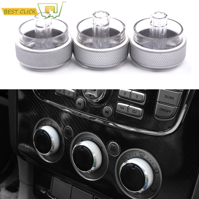 For Ford Focus 2 3 Mondeo S C-Max A//C Heater Climate Control Switch Knobs Button