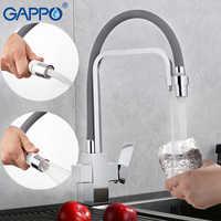 Grifos de filtro de agua GAPPO, mezclador de agua, grifo de fregadero de cocina de latón, mezcladores de cocina, grifos de grúa, filtro torneira para Cocina